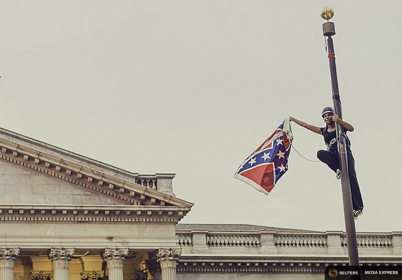 Photo of Take down the Confederate flag-Why Bree is a hero