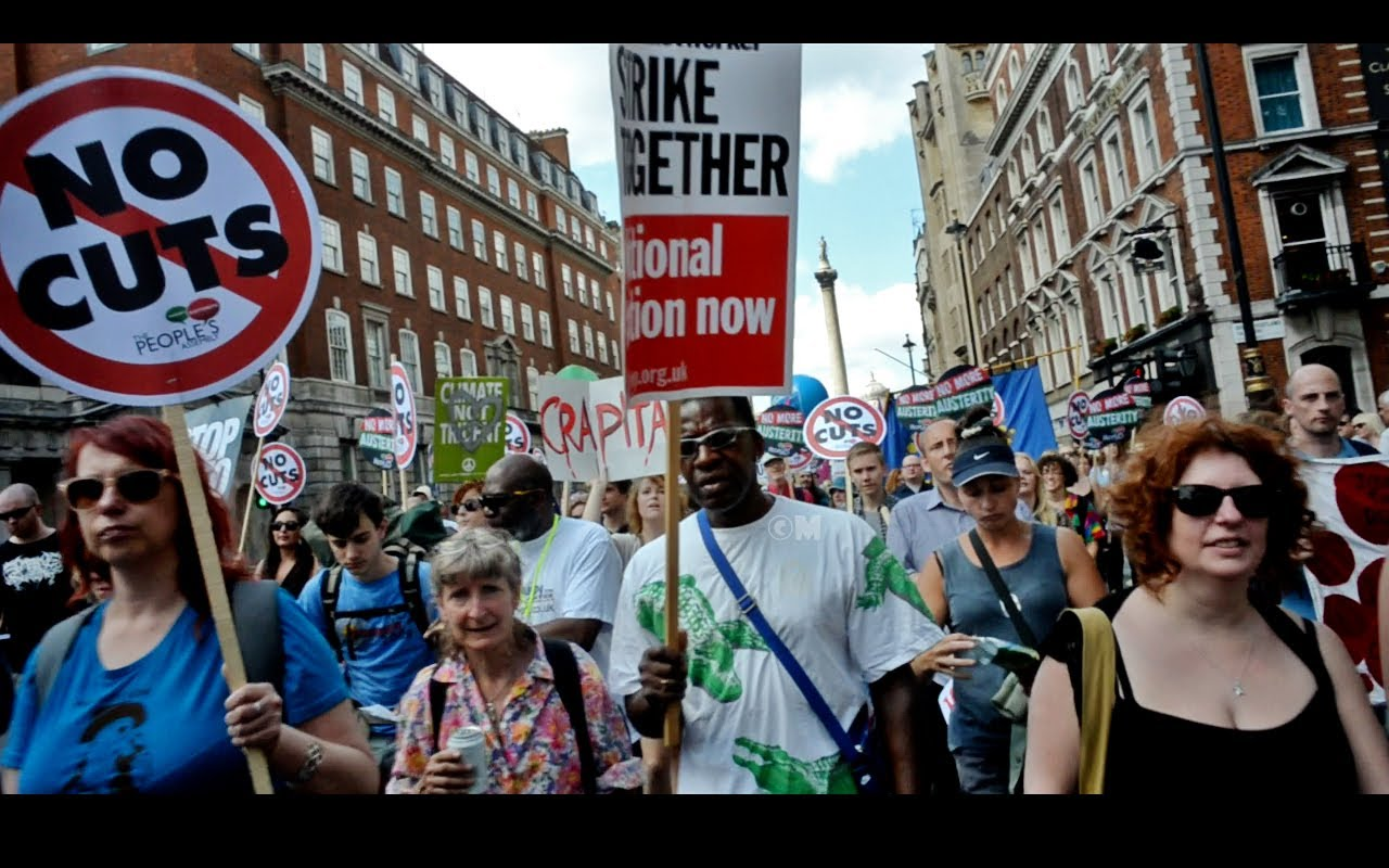 Photo of Report from London: Anti-austerity rally brings out 250,000