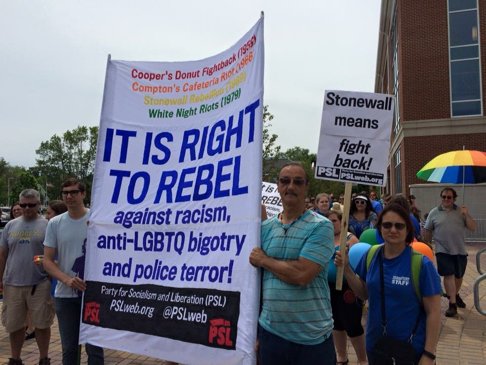 Photo of Portsmouth, NH Rallies for LGBTQ Pride