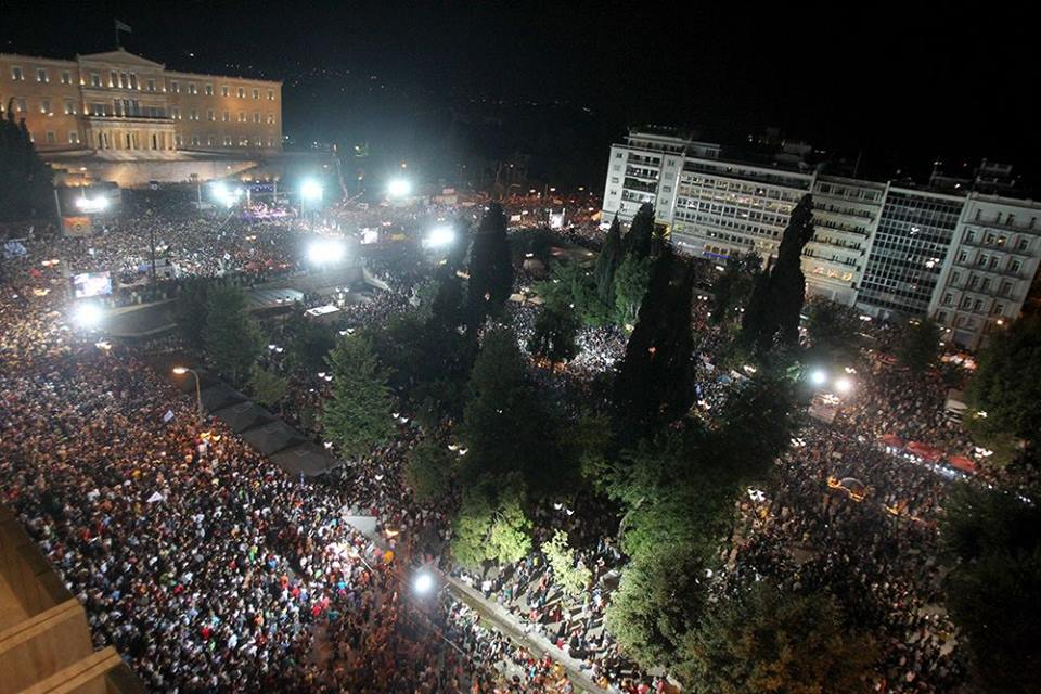 Photo of Greek people say 'No' in the streets and the ballot box