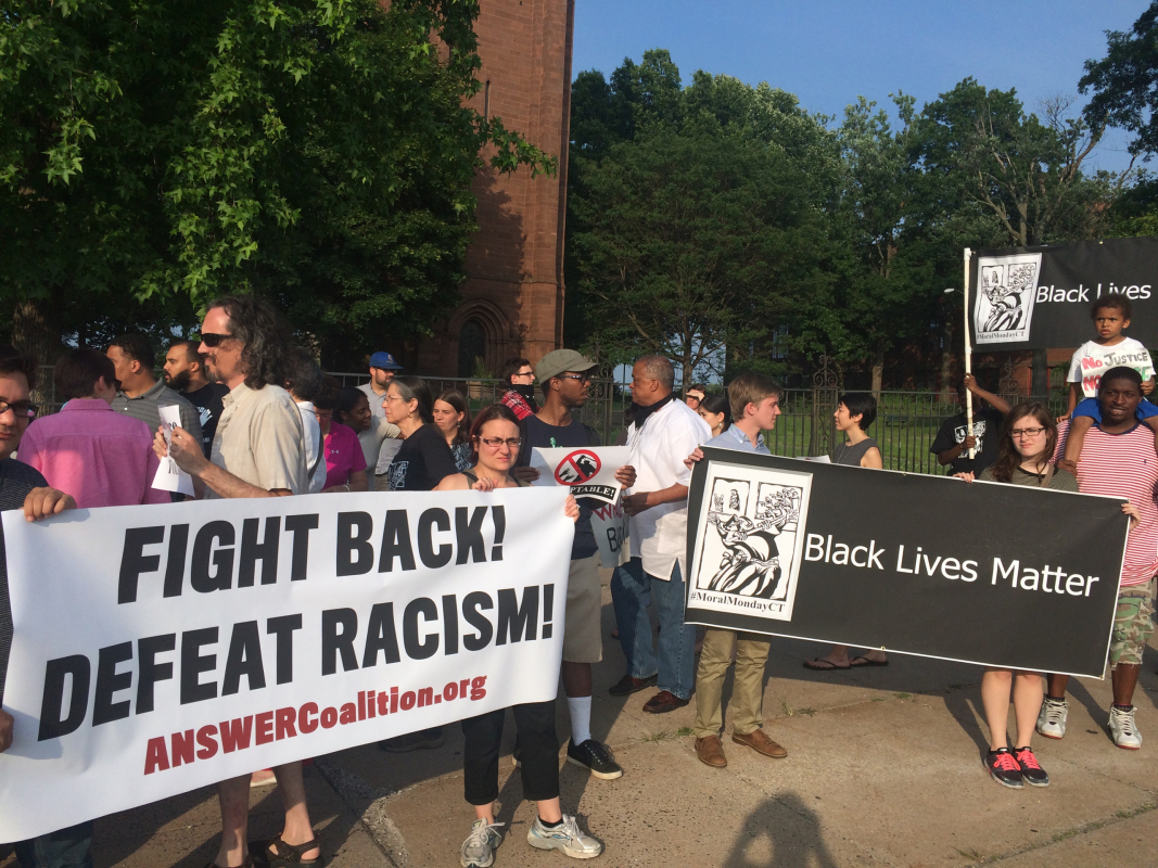 Photo of Hartford protests police brutality after video goes viral