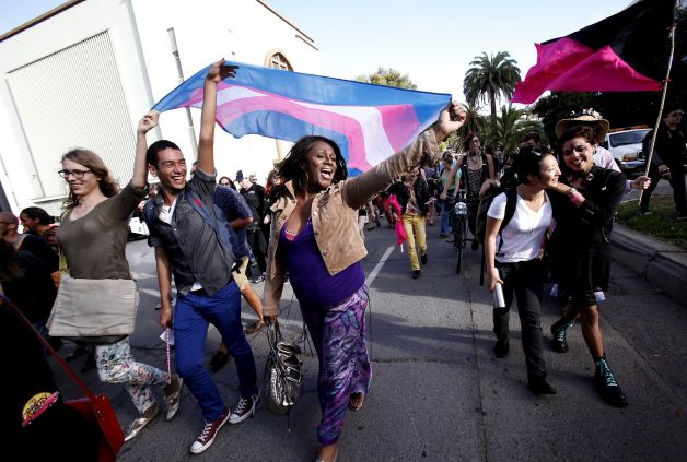 Photo of Activists in San Diego demand trans power now