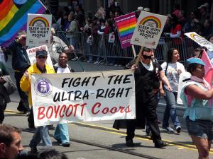 Coors Boycott contingent