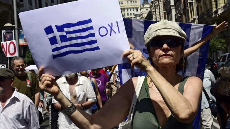 Photo of Resistance inside and outside parliament during Greek austerity vote