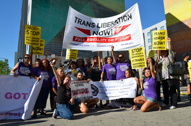 Photo of Protests demand justice for two trans women brutally murdered three days apart