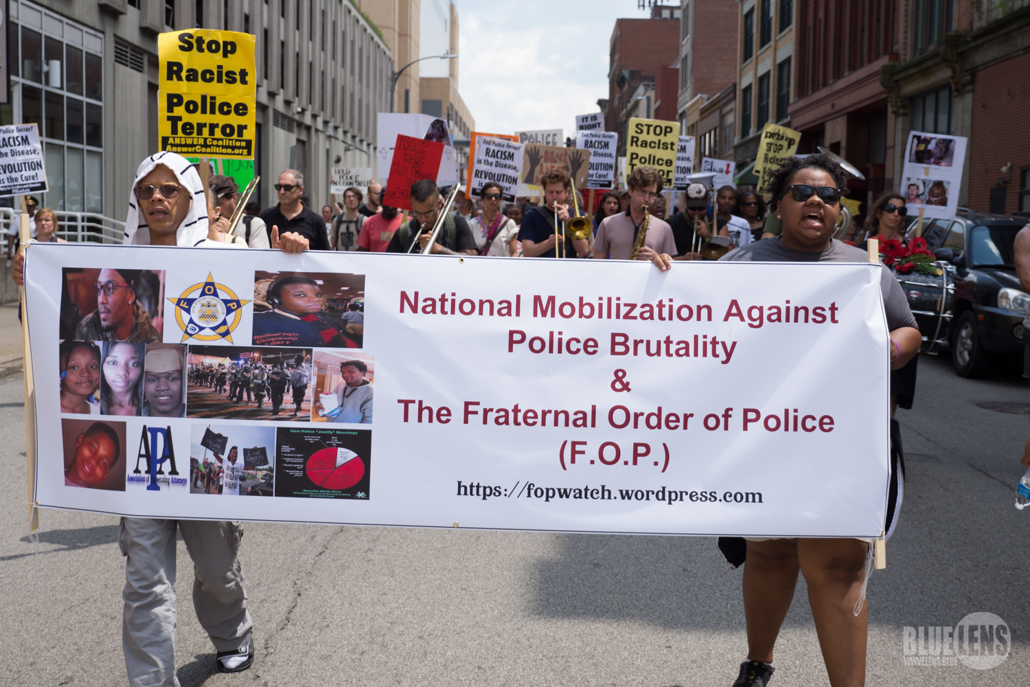 Photo of Pittsburgh confronts FOP on Mike Brown anniversary