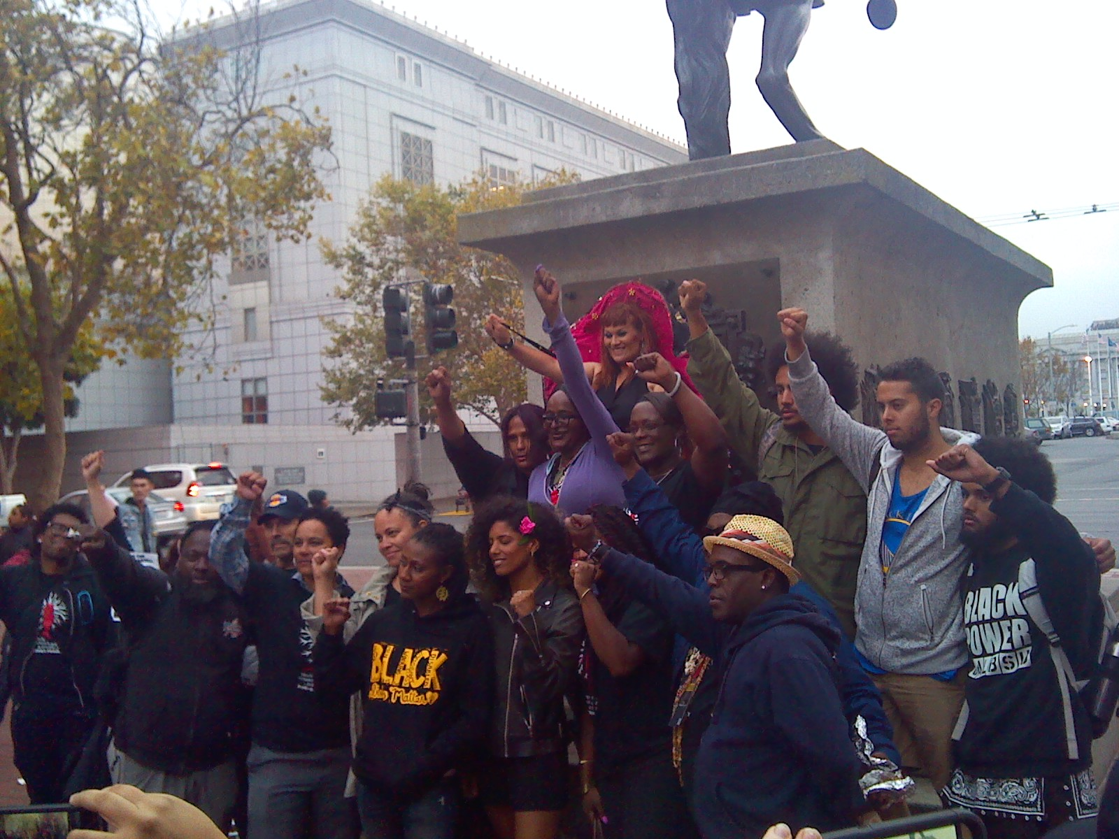 Photo of SF Day of Action for Black Trans Liberation draws hundreds