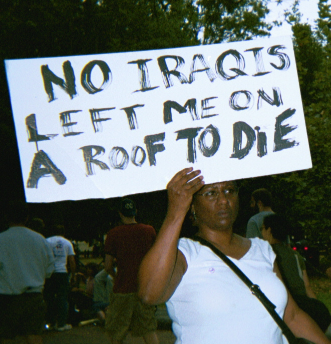 Photo of Video on Katrina injustice: Heroes Not Looters