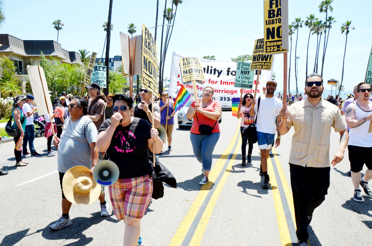 Photo of Fight for LGBTQ liberation—Stay in the streets!