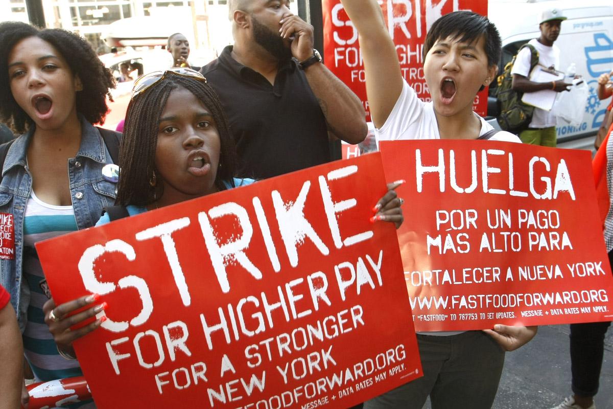 Photo of Trabajadores de bajo salario luchan contra la desigualdad capitalista