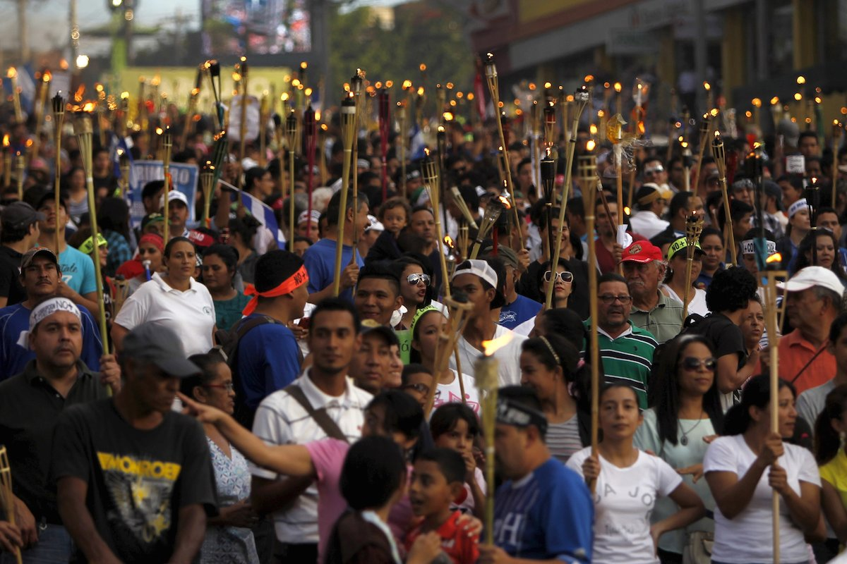 Anti-corruption movement energizes resistance in Honduras