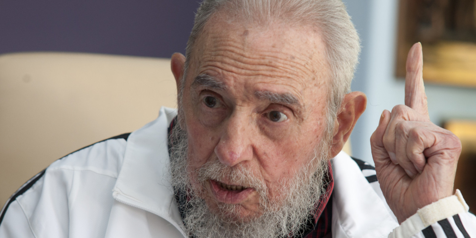 Photo of PSL birthday greetings to Fidel