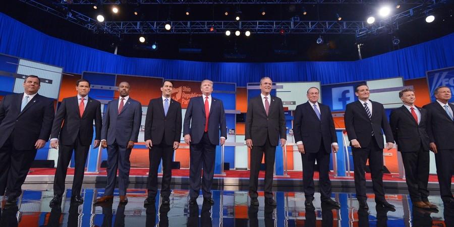 Primary debate exposes Republican Party divisions ...