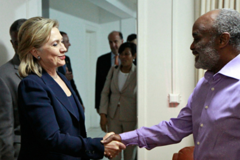 Photo of The mysterious gap in Hillary Clinton's Haiti emails