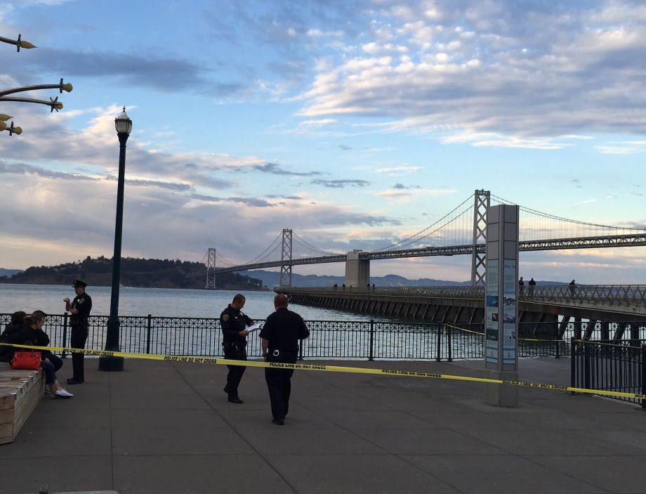 Photo of 'Murder' in San Francisco? Not even in Hollywood.