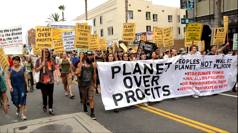 Photo of Marching through Hollywood: Planet and people over profits!