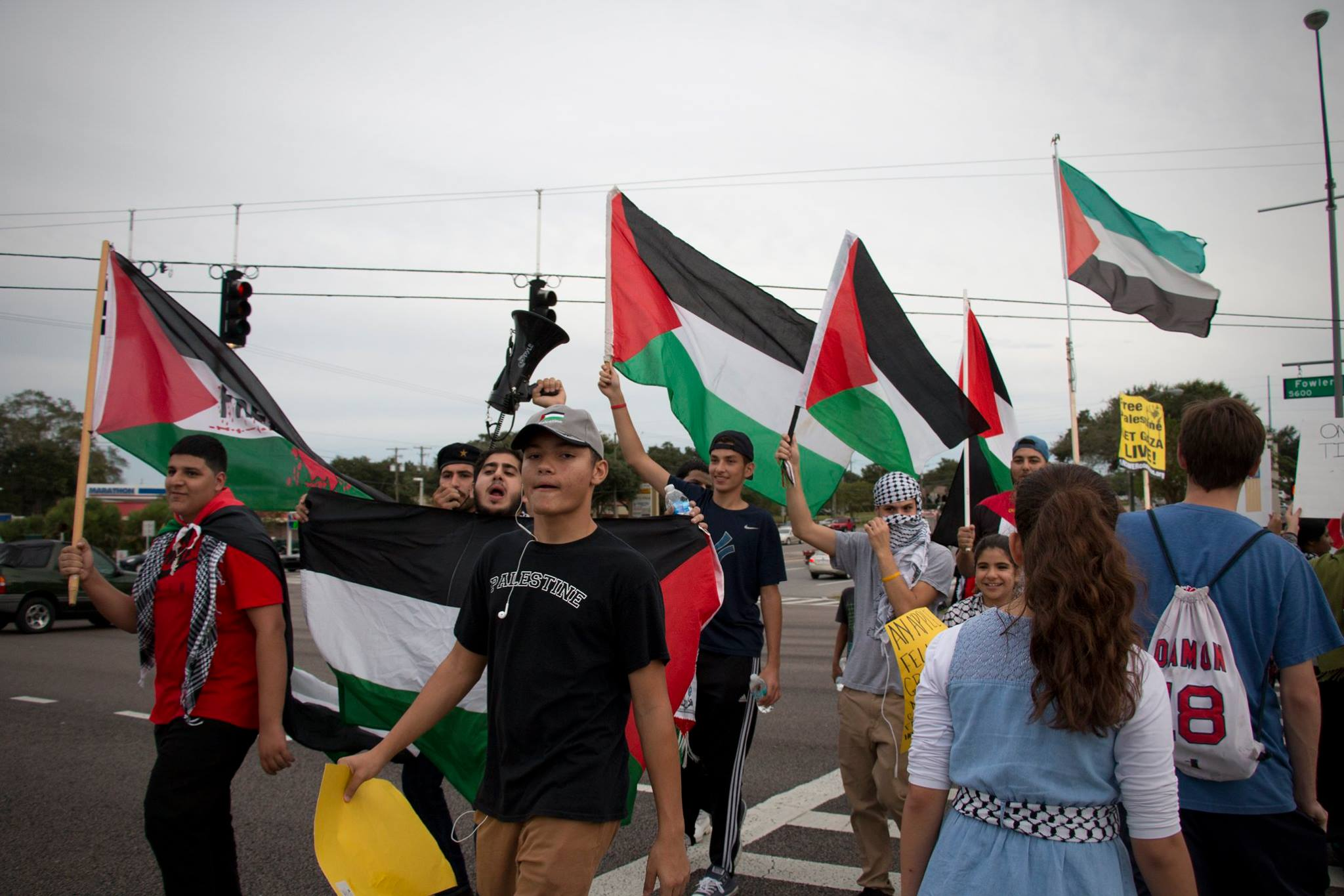Photo of Tampa rallies for Palestine amid new Israeli attacks