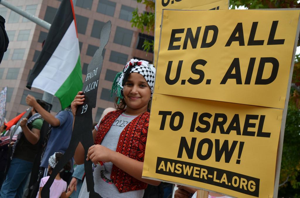 Photo of LA stands for Palestine