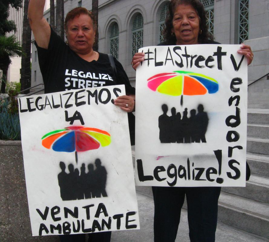 Photo of Stop harassing street vendors in LA