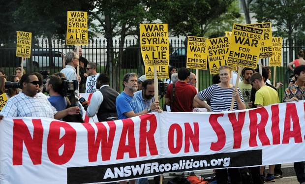 U.S. Role in Syria's Civil War - Liberation News