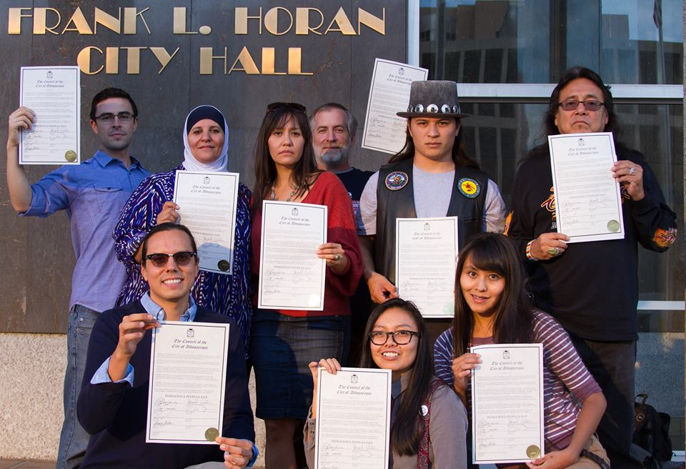 Photo of Victory—Albuquerque declares Indigenous People's Day