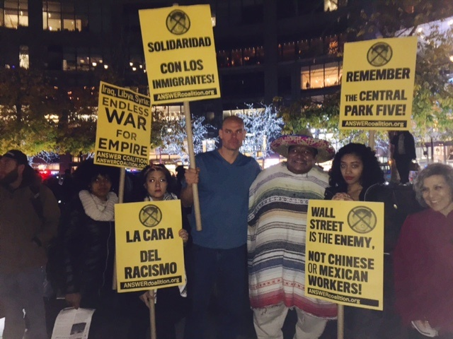 Photo of New York City rally for refugees denounces Trump, racist backers