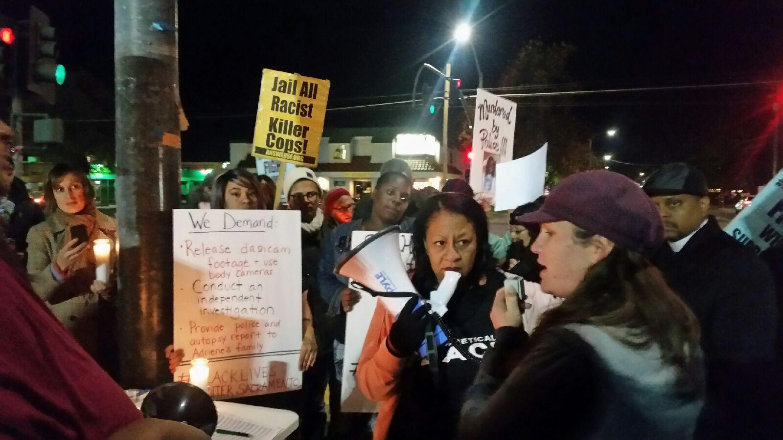 Photo of Justice for Adriene Ludd, murdered by Sacramento sheriff's deputies