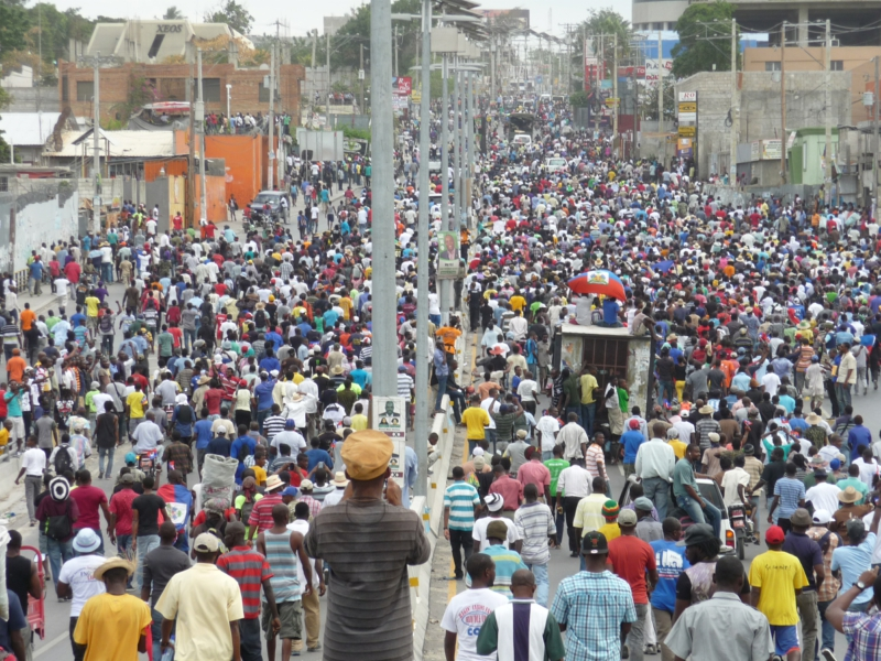 Photo of Haiti: Tens of thousands foil fraudulent elections