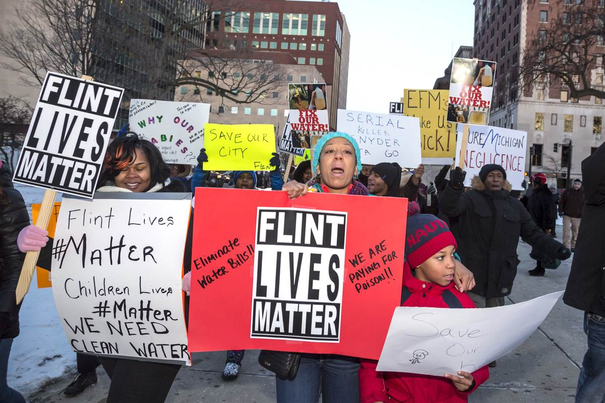 Save Flint! Kill capitalism!