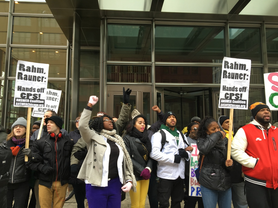 Photo of Rally to save Chicago State University