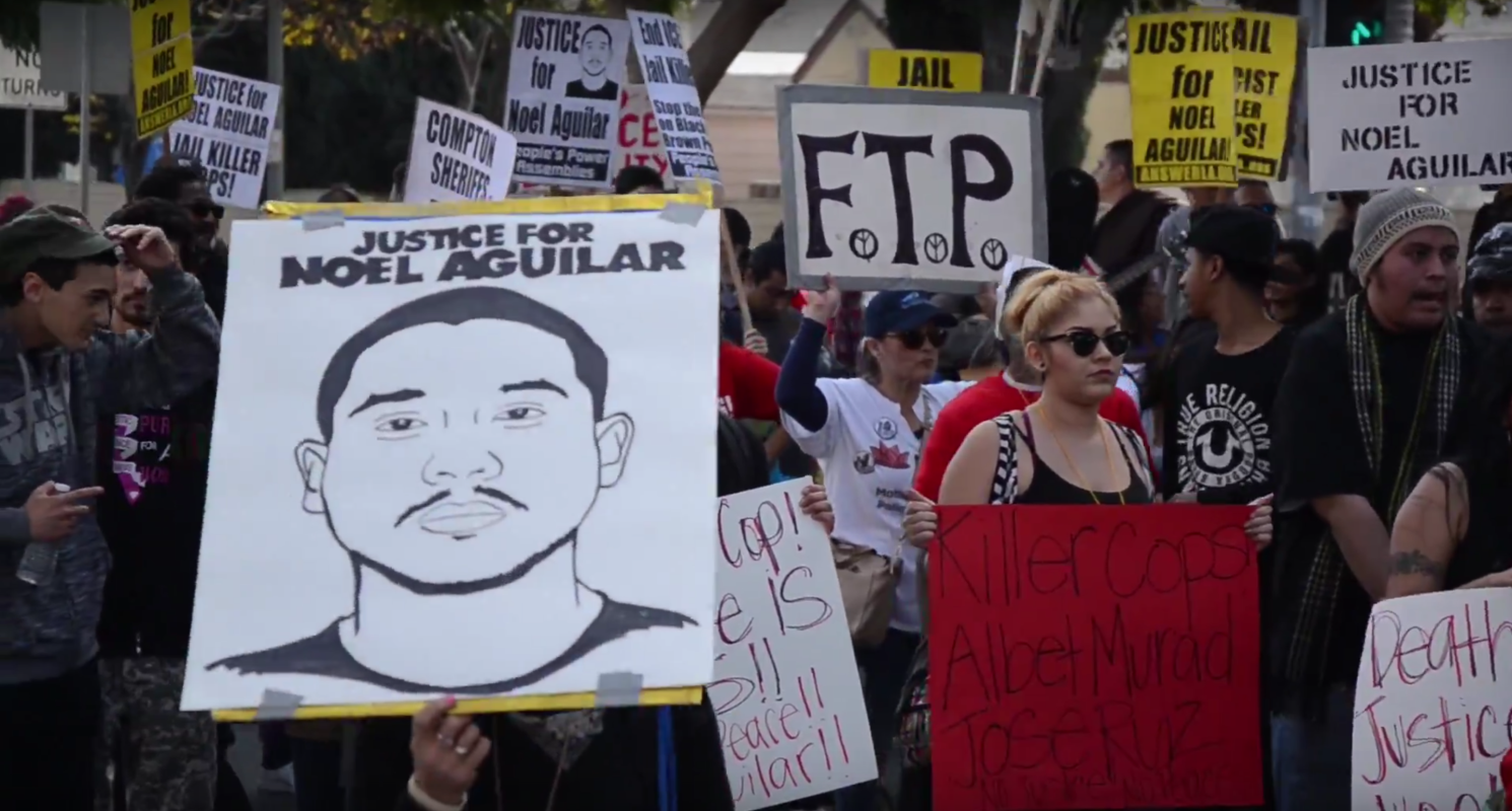 Photo of Video: Justice for Noel Aguilar march