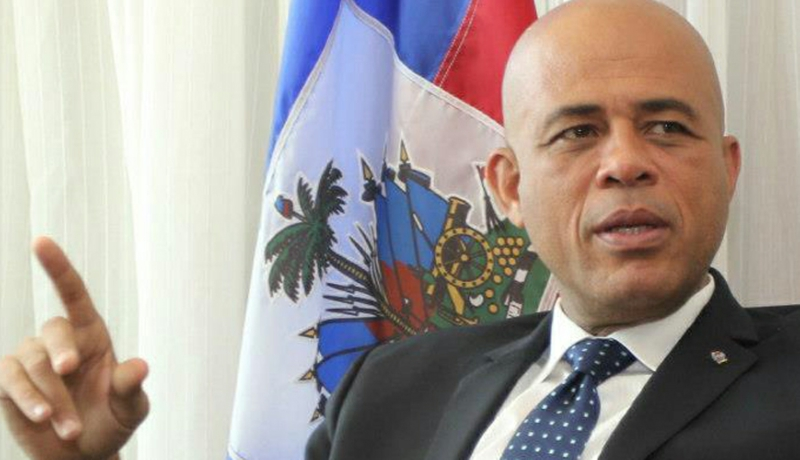 Photo of Martelly renews pledge to restore disbanded military force