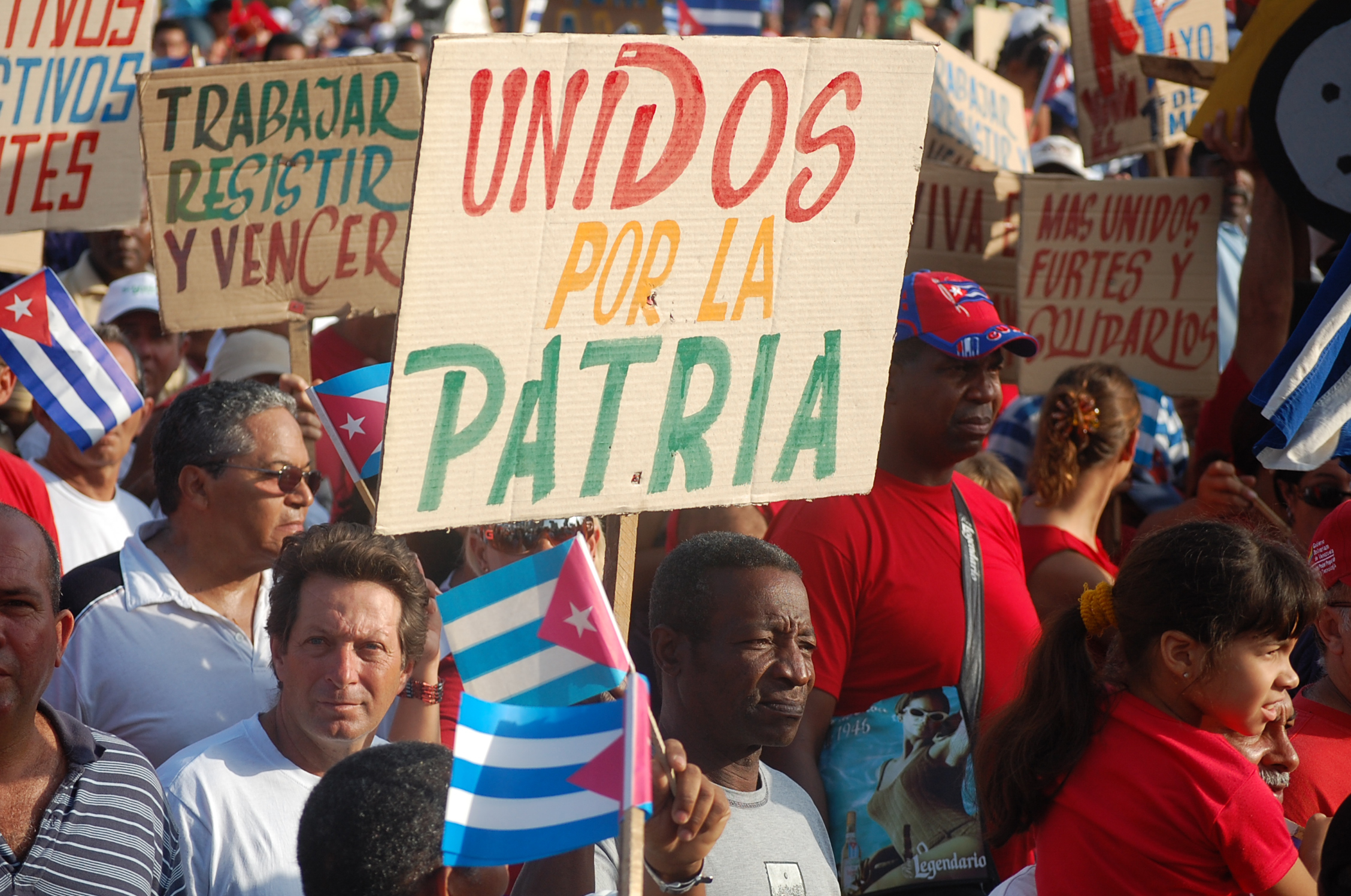 Photo of We stand with Cuba