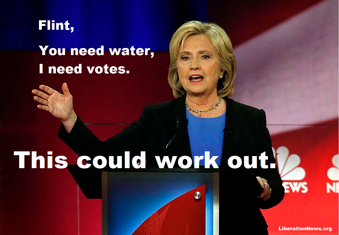 Photo of 4 reasons why Hillary doesn't really support Flint