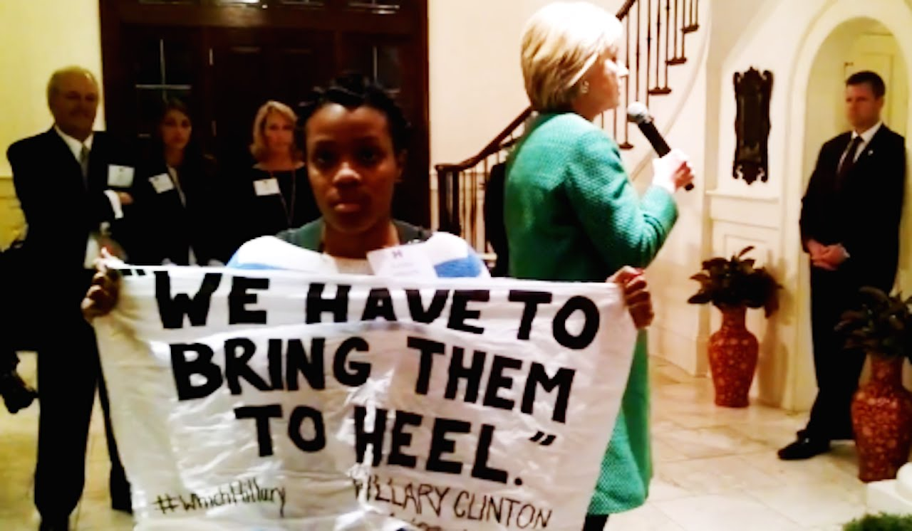 Photo of Ashley Williams' courageous act exposes Clinton