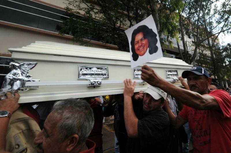 Photo of US-imposed Honduran regime guilty in murder of Berta Cárceres