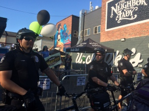 Seattle police protecting marijuana store