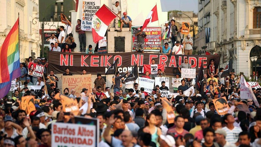 Photo of Peru headed to runoff elections in June