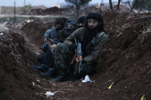 "Al-Nusrah fighters, the ""moderate rebels"""