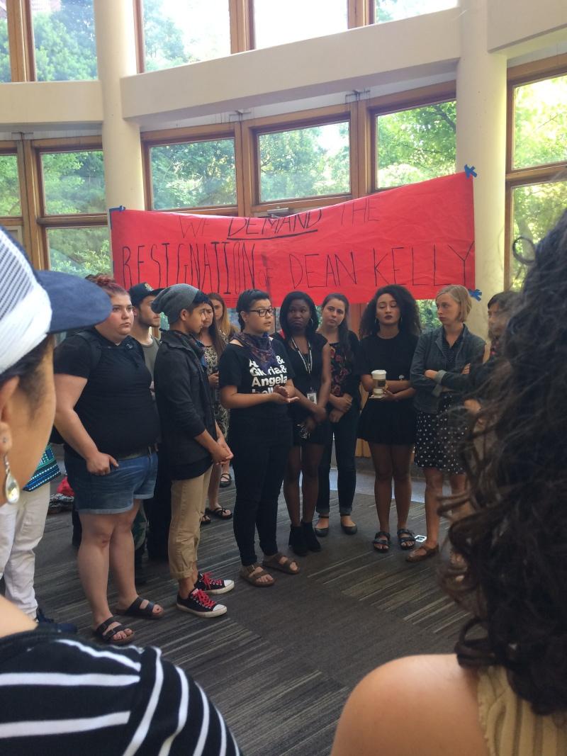 Photo of Seattle U occupation: Matteo Ricci Coalition fights injustice