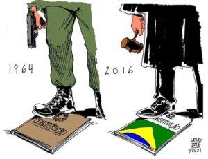 Latuff Cartoon Brazil Coup 1964 - 2016