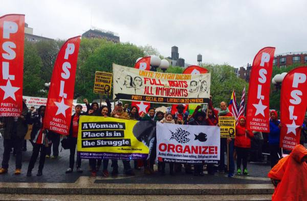 Photo of Photos: PSL spends May Day in the streets!