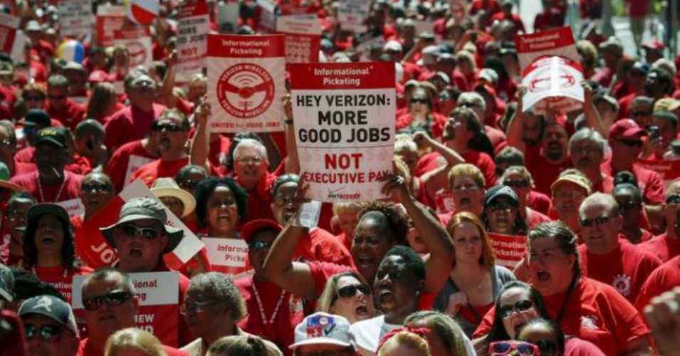 Photo of Big gains for Verizon workers after strike