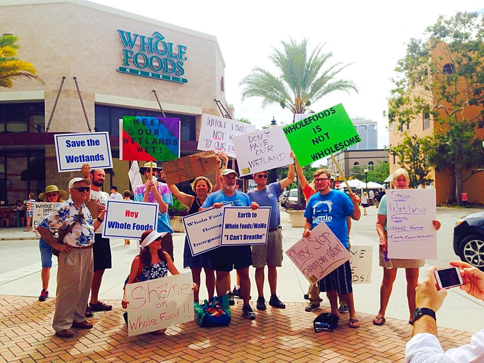 Photo of Sarasota activists fight Whole Foods, County Commission over wetland