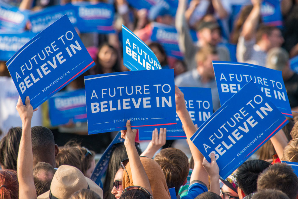 Photo of Inside D.C. Sanders rally: perspectives of young voters