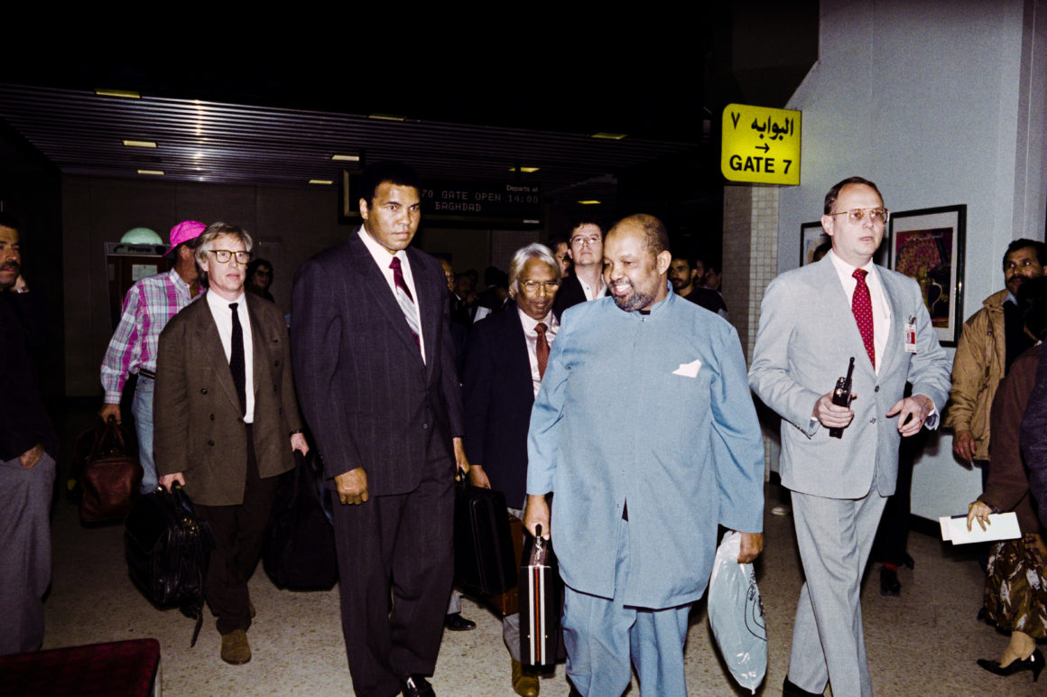 I was with Muhammad Ali on his hostage-release trip to Iraq — and the media has it all wrong