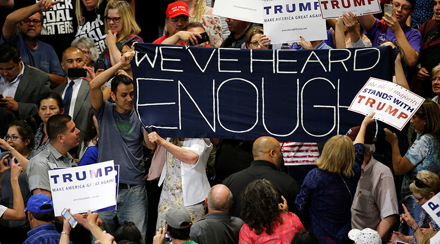 Photo of Leaders denounce criminalization of protesters at N.M. Trump rally
