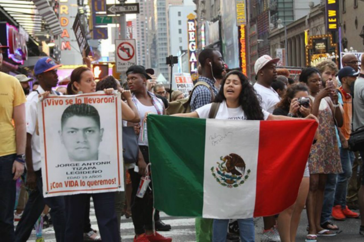 Photo of It was the state: Connecting 'Ayotzinapa 43' to 'Black Lives Matter' in NYC