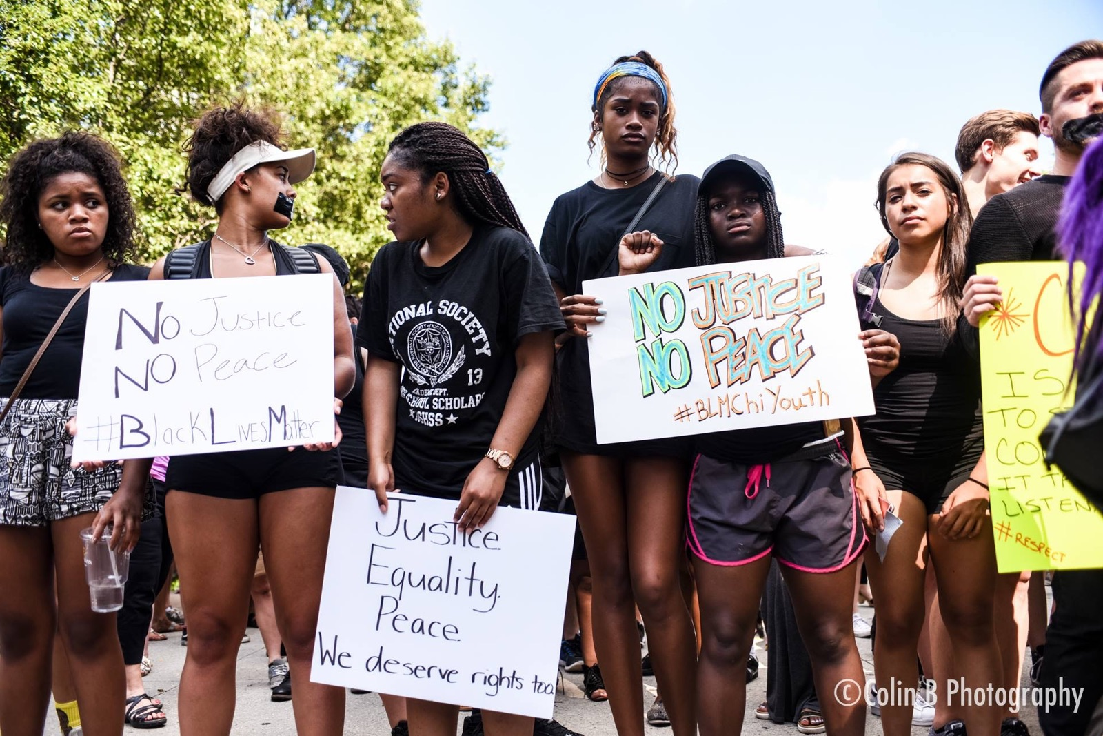 Photo of Enough is enough: interview with youth leader Ashanti Andrews on Chicago BLM protests