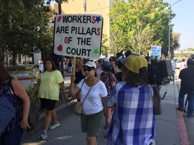 Photo of Superior Court clerks end eight-day strike with gains